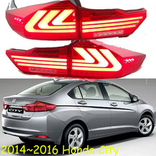2014~2016year car bumper tail light for City taillight car accessories LED DRL Taillamp for city fog light
