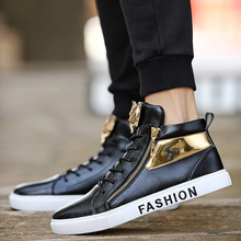High top Sneakers Men Shoes 2019 Spring Hot Sale In