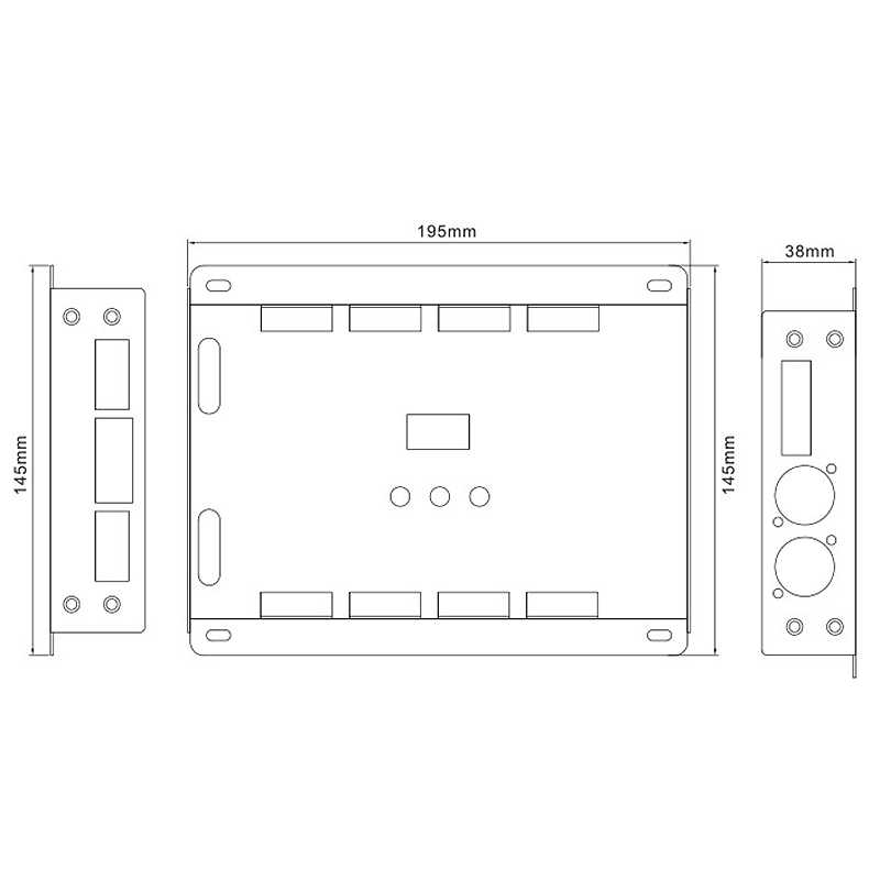 Bc-632 Dc5V-24V Tegangan Konstan 32Ch DMX/Rdm Decode Driver 3A * 32Ch Output Dmx512 RGBW Controller untuk RGB RGBW LED Strip Lampu