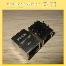 50PCS/lot   HanRun  HR911105A  RJ45  LIGHT  Network Transformers