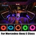 Flexible Neon Kaltes Licht/EL Draht Für Mercedes Für Benz E klasse W211 W212 W207 C207/Auto Konsole Dekorative Streifen/9 Mt Ein Satz-in Dekorative Lampe aus Kraftfahrzeuge und Motorräder bei