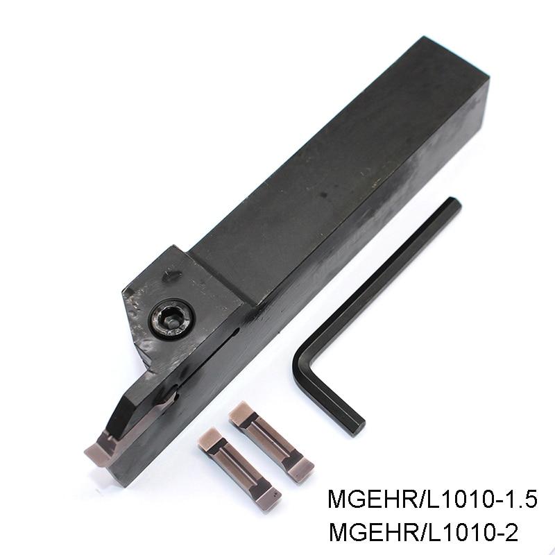 MGEHR1010-3 CNC Lathe External Grooving Cut boring bar tool Holder For MGMN300