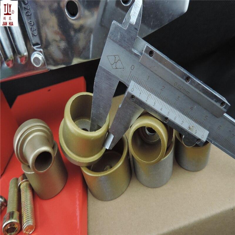 JIAN HUA 4 комплекта штамповочные головки 20-32 мм паяльник для паяльных труб, инструмент для сварщика труб, сварщики водонагреватель трубки