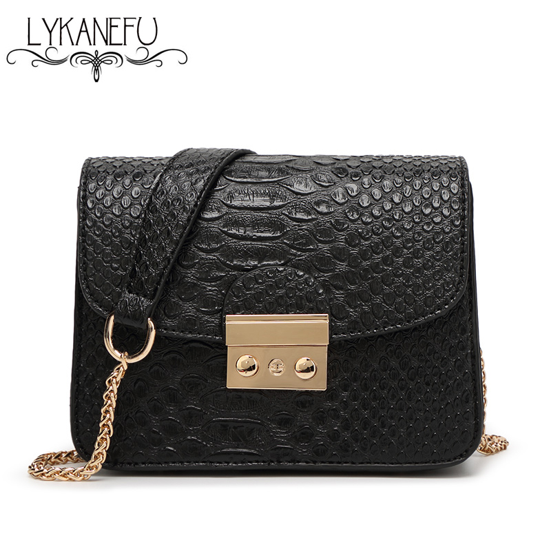 Designer Bags Famous Brand Women Bags 2017 Small Hasp Lock Women Messenger Bags PU  Shoulder Purse and Handbag Bolsas Feminina
