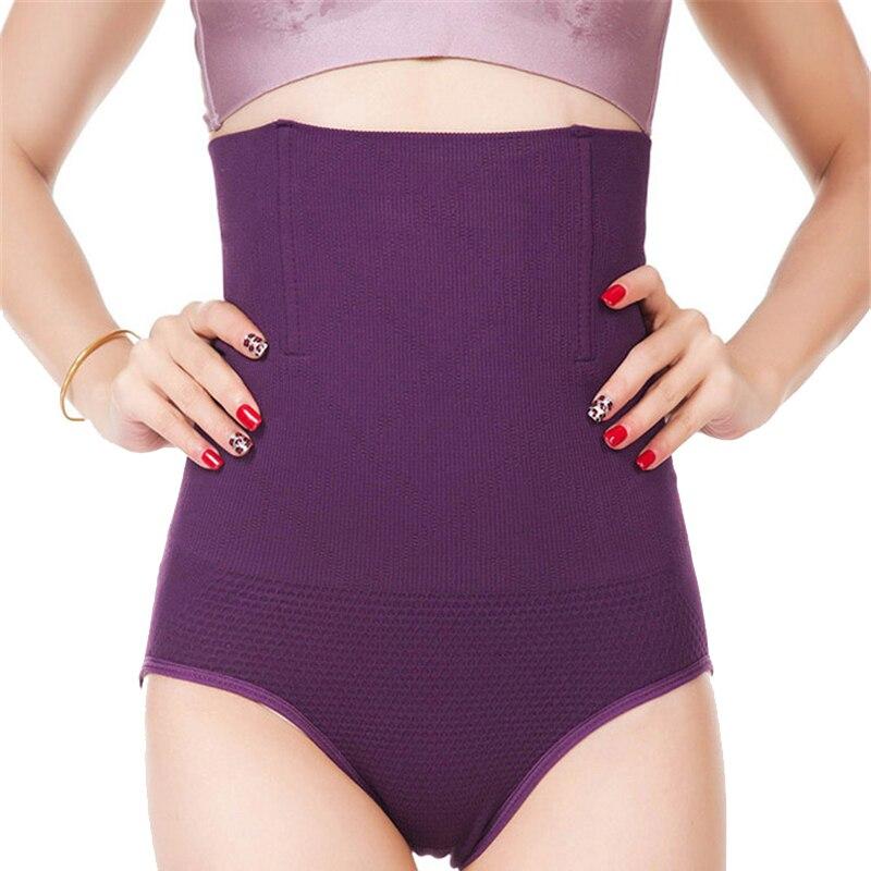 Frauen Hohe Taille Körper Shaper Höschen nahtlose bauch Bauch Control Taille Abnehmen Hosen Shapewear Gürtel Unterwäsche Taille Trainer