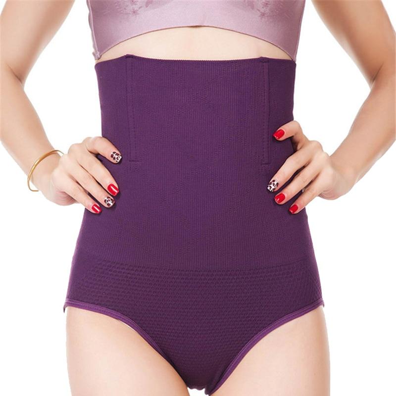 c4ddade3939a Mujeres de cintura alta de cuerpo talladora bragas sin estómago vientre  Control adelgazar cintura ...