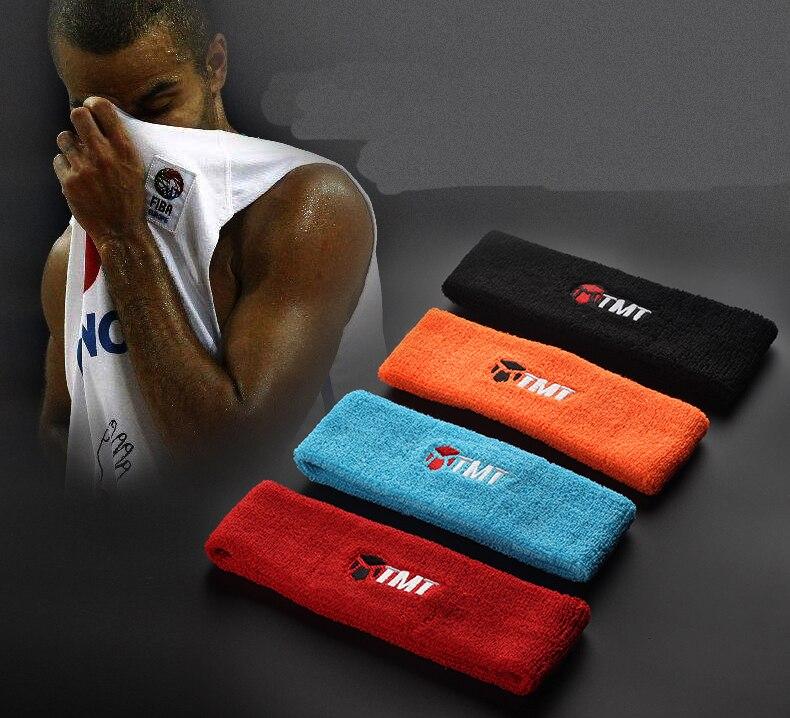 Sports head sweat scarf men and women hair hoop tennis running fitness basketball hair b ...