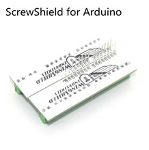 5pcs/lot Fast Shipping via China ScrewShield screw shield for Arduino Analog side PCB 6-pin Stackable Headers Screw Terminals