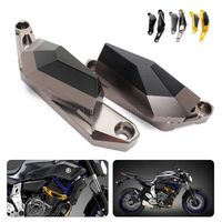 For Yamaha MT 07 MT 07 MT07 Motorcycle Left Right CNC Engine Guard Case Slider Cover
