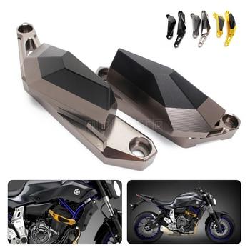 For Yamaha MT-07 MT 07 MT07 Motorcycle Left&Right CNC Engine Guard Case Slider Cover Crash Pads Frame Sliders Crash Protectors