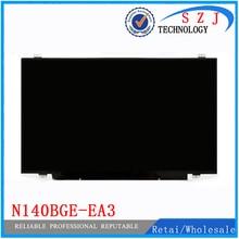 Nueva 14 pulgadas led n140bge n140bge-e33 n140bge-e43 n140bge-eb3 n140bge-ea3 n140bge-ea2 para asus g46vw acer v5 v7 pantalla lcd portátil