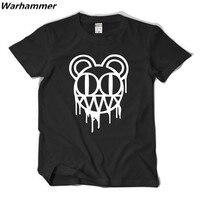 2016 Summer Rock Tee T Shirts RADIOHEAD 100 Cotton O Neck Big Yard 220gsm Heavy Metal