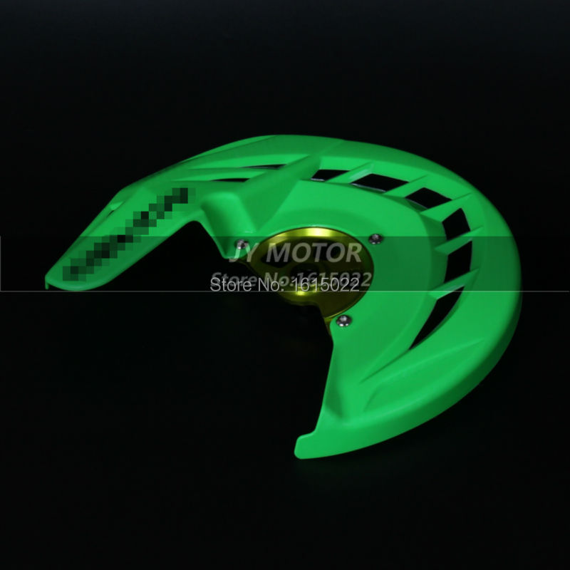 ФОТО X-Brake Front Brake Disc Rotor Guard Cover Protector Protection KX KXF KX125 KX250 KXF250 KXF450 KLX450R 06-15 free shipping
