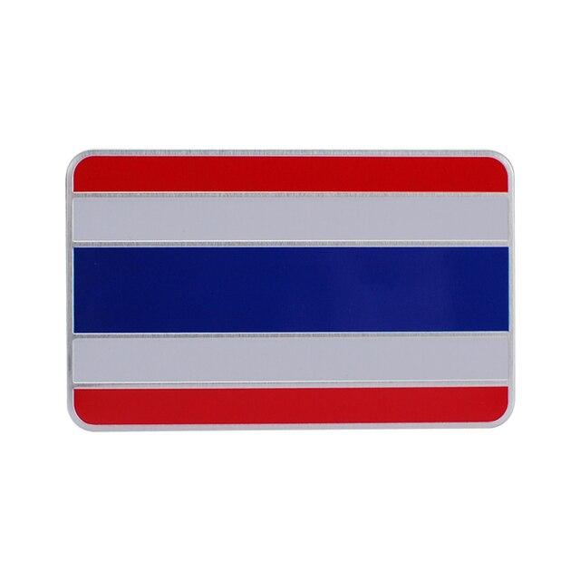 Car Accessories Decal Thailand Flag Emblem For Honda Benz Ford Audi