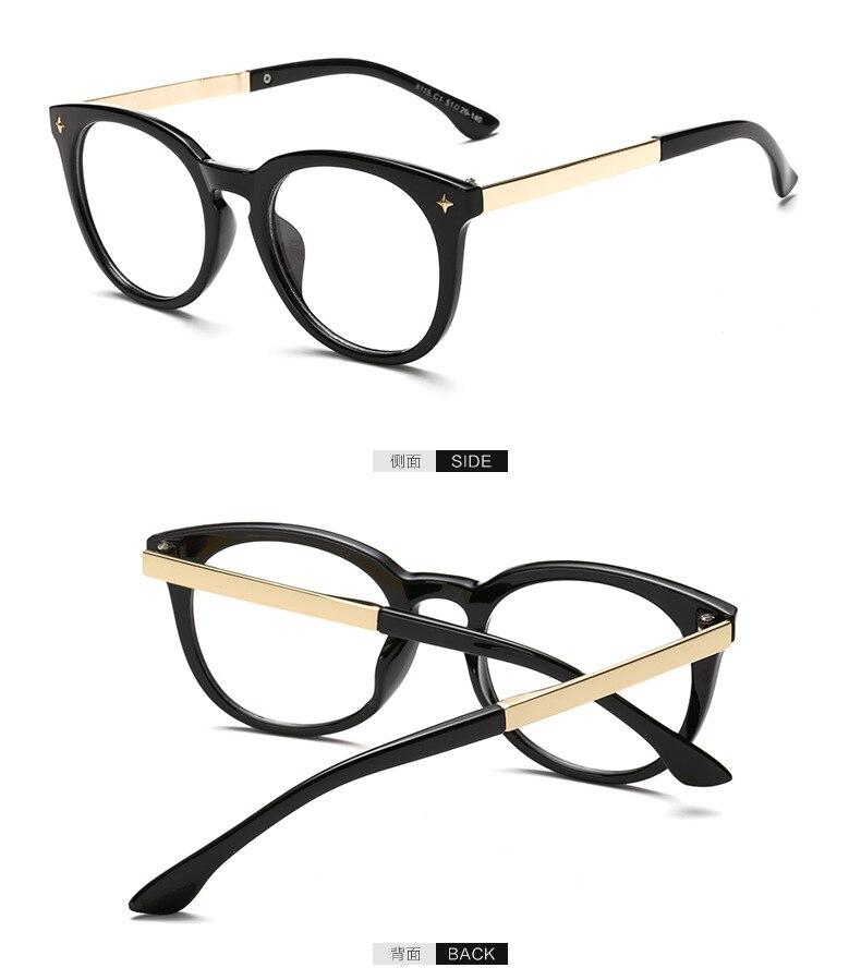 aecd31660e 2016 recién llegado de moda gafas monturas de gafas para mujeres hombres  Vintage Retro Redondo Eyewear óptico Yjk020 en De los hombres gafas de  Marcos de ...