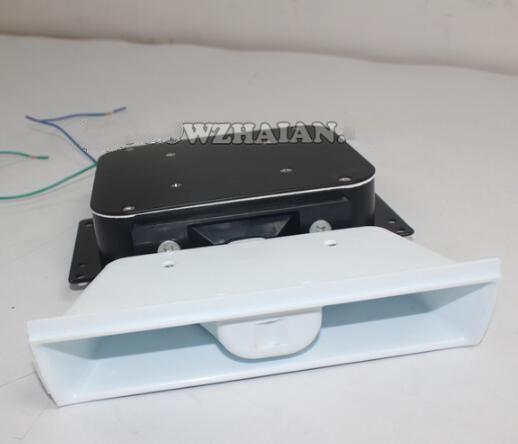 Tweeter ultra-mince de klaxon de haut-parleur de voiture de 100 W 8ohm pour la sirène, imperméable à l'eau