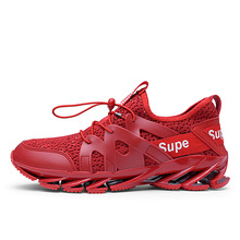 Sport Shoes Men Comfortable  Outdoor shockproof Sneakers Male Athletic Breathable Walking big size lightweight Running