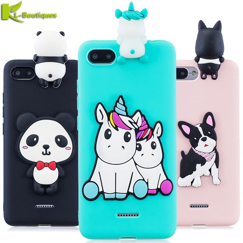 for <font><b>Xiaomi</b></font> <font><b>Redmi</b></font> <font><b>6A</b></font> Case on for Xiomi <font><b>Xiaomi</b></font> <font><b>Redmi</b></font> <font><b>6A</b></font> 7A 5A 4X Cover Fundas Cartoon 3D Doll Toys Candy Soft Silicone Phone Cases image