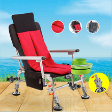 Beach With  Portable Folding Chairs Outdoor Picnic Seat Oxford Cloth Lightweight Seat for Fishing Camping Chair Cushion winter