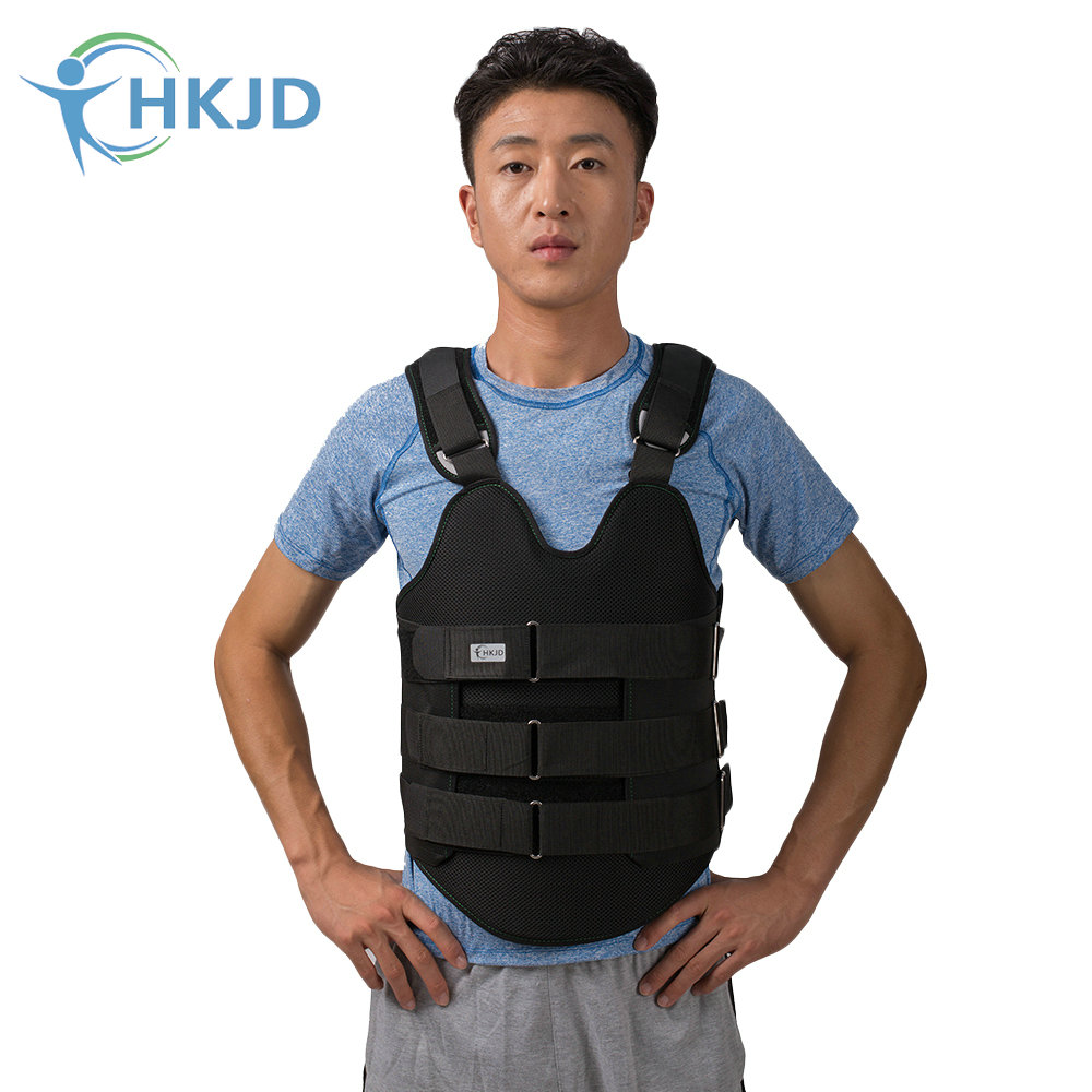 HKJD Thoracolumbar Orthosis Fixation Brace Thoracic Spine Compression Fracture Brace Bracket After Surgery shoulder abduction orthosis suitable for shoulder joint surgery after fixation free of shipping
