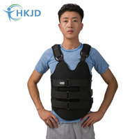 HKJD Thoracolumbar Orthosis Fixation Brace Thoracic Spine Compression Fracture Brace Bracket After Surgery