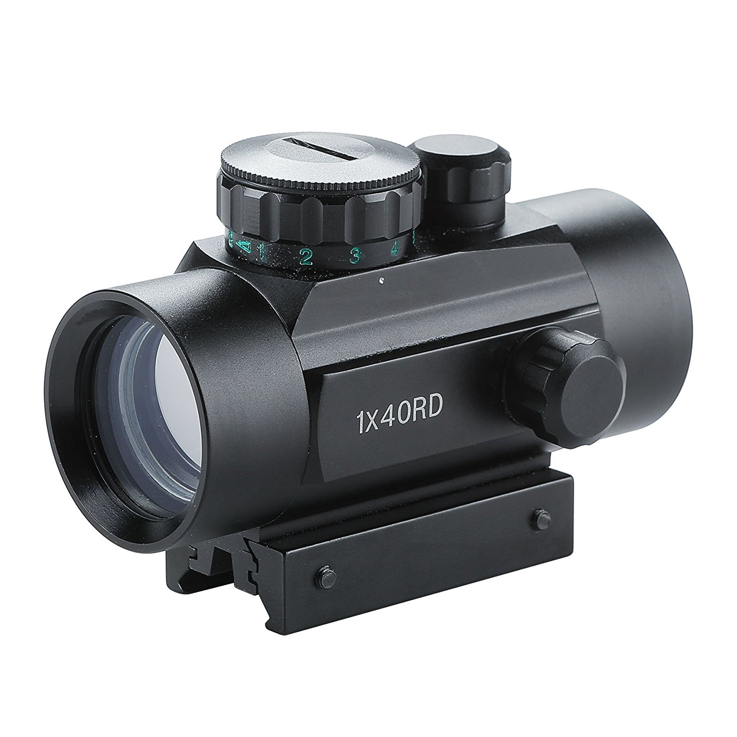 Taktis 1x40mm Reflex Red / Green Dot Sight Riflescope dengan Gratis - Berburu