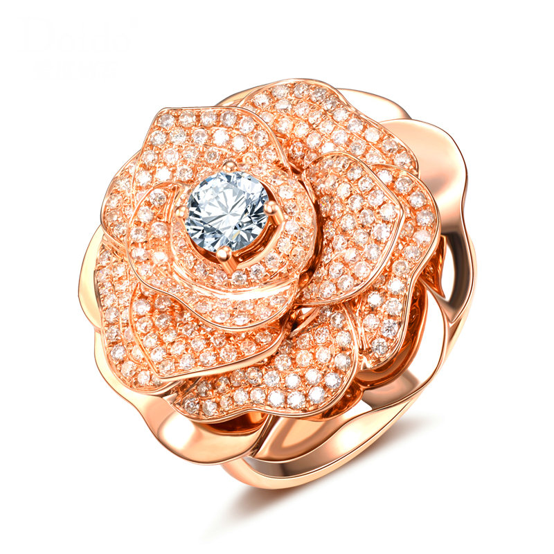 right engagement ring gift morganite flower pin saved diamond from rose to jewelry rings unique hand camellia gold band special