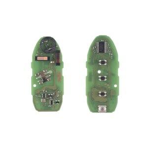 Image 4 - KEYYOU dla nissan teana Altima Maxima dla Infiniti KR55WK48903 obudowa inteligentnego pilot z kluczykiem samochodowym 4 przyciski klucz zdalny centralny zamek z 315Mhz