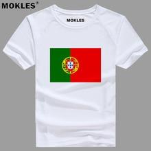 PORTUGAL t shirt diy free custom name number prt t shirt nation flag pt republic portuguese
