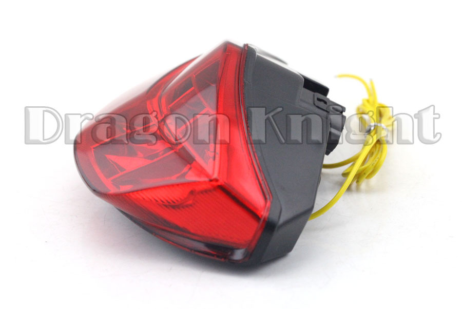 ФОТО Motocycle Accessories For DUCATI Monster 696 08-14 Integrated LED Tail Light Turn signals Red