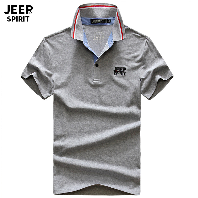 2019 AFS Brand Cotton JEE   polo   Shirt Men Trend Teenagers Leisure Self-cultivation Thin   Polo   Shirts For Men Solid Top Tee