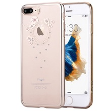 For iPhone 7 Hard Cases DEVIA for iPhone 7 Authorized Crystal Garland Plating Plastic Case – 4.7 inch