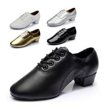 Brand New Modern Men's Ballroom Latin Tango Dance Shoes Man Salsa Heeled