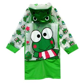 Student backpack belt Raincoat Baby Children Cartoon rainproof Rain Coat Girls and boys Waterproof Poncho Rain cover