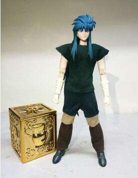 En stock DUO modelo Aquarius Camus SOG EX figura de acción juguete vestido casual y caja Pandora