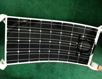 Work fine, good quality, 100w solar panels, semi-flexible can be bent, cost-effective