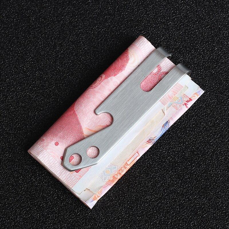 GroßZüGig Hohe Qualität Edc Flasche Opener Edelstahl Geld Clip Mode Handwerk Bargeld Banknote Clamp Halter Mini Brieftasche Geschenk Männer Frauen Ruf Zuerst