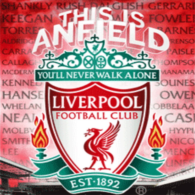 liverpool logo daimond <font><b>painting</b></font> volledig met <font><b>vierkant</b></font> <font><b>steentjes</b></font> 5D DIY <font><b>Diamond</b></font> Cross Stitch decoration home <font><b>Diamond</b></font> Mosaic image