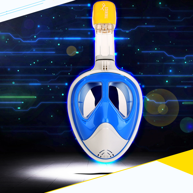 Underwater Myopia Diving Mask Adult Anti Fog Snorkel Mask Scuba Mergulho Full Face Snorkeling Maske Diving Equipments Aqualung anti fog full face snorkeling mask diving snorkel 180 degree vision for gopro free breathing dive gear tube swimming diving mask