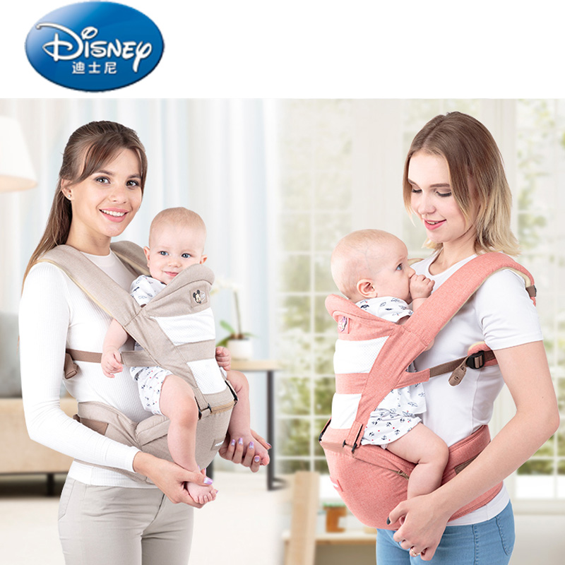 цена на Disney baby sling Baby Carrier Breathable Multifunctional Front Facing Infant Baby Sling Backpack Wrap