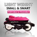 Супер Легкий Вес Коляски Складной Моды Pushichair Портативные Коляски Малолитражного Автомобиля для Свободного Грузов