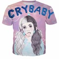 Melanie Martinez Crybaby T-shirt melanie martinez Bubbles t shirt Cry Baby shirts Sippy Cup Tee Clown-lanie tshirt For Women Men