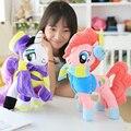 35 см ГОРЯЧАЯ Моя лошадь плюшевые игрушки для детей, Аниме и ТВ peluche фонология Лунная Принцесса Детские Игрушки brinquedos детей игрушки маленькая пони дракон