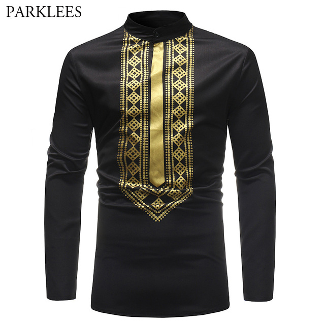 2815c3ce7d6 2018 marca negro Dashiki T camisas Hipster para hombre africano botín  estilo 3D hombres Camiseta Slim