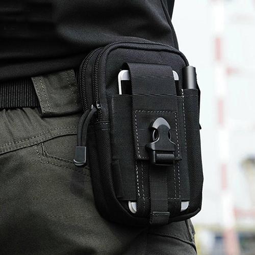 Men Durable Waist Bum Bag Pack Purse Case Organiser