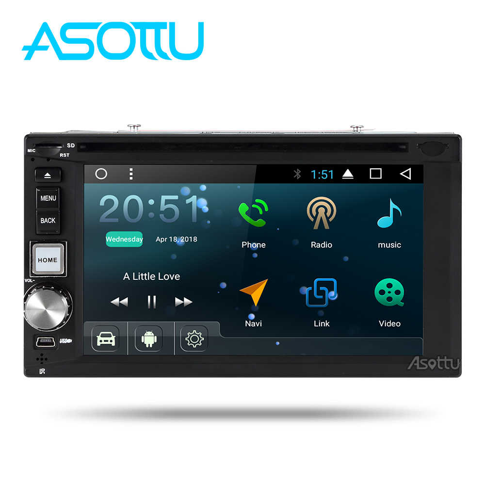 Asottu TDD6270 2G android 7.1.2 car dvd gps navigation radio video player stereo universal 2 din radio car multimedia player gps
