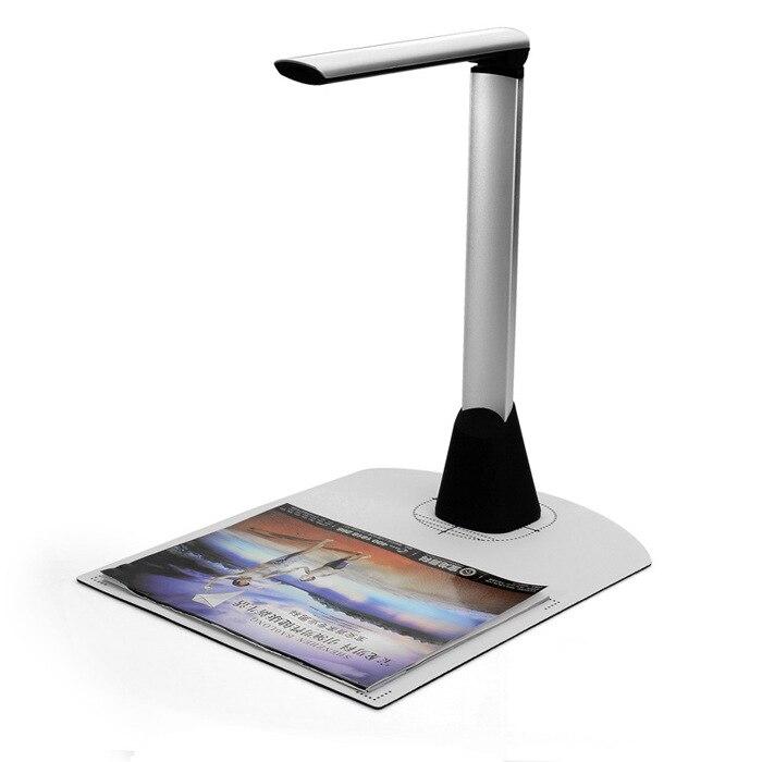 Портативный высокоскоростной A4 A5 офисный банк Goverment 5.0MP камера документ фото ID карта Визитная карточка сканер визуализатор