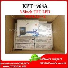 Kpt968a 3.5 ' TFT LED de mano digital receptor de tv por satélite señal buscador de medidor KPT-968A dvb-s KPT 968A MPEG-2 kpt-968g