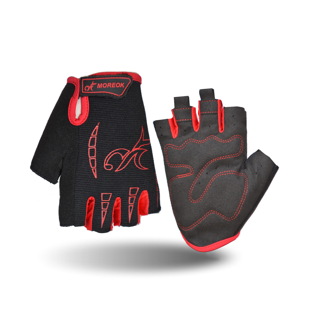Hot Sale Riding Equipment MK034 Silica Gel Shockproof Bicycle Half Finger Riding Gloves 3 Colors Wholesale B2Cshop