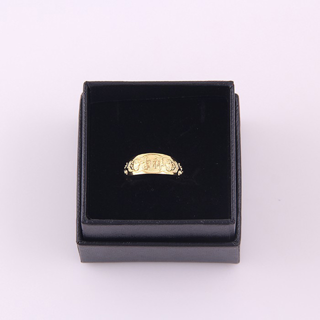 Hot Anniversary Ring Best Gift For Your Husband Cheap Gold Ring